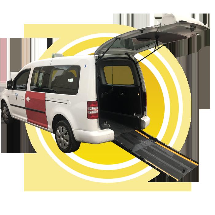 Adapted taxi/Taxi adaptado